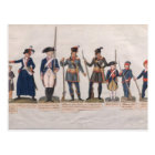Characters of the French Revolution Postcard