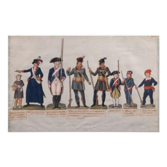 Characters of the French Revolution Poster