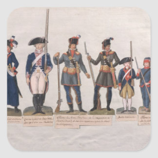 Characters of the French Revolution Stickers