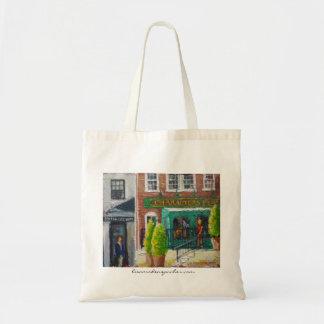 Characters Pub Bistro series Tote Bag