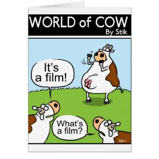 Charades Cows Card