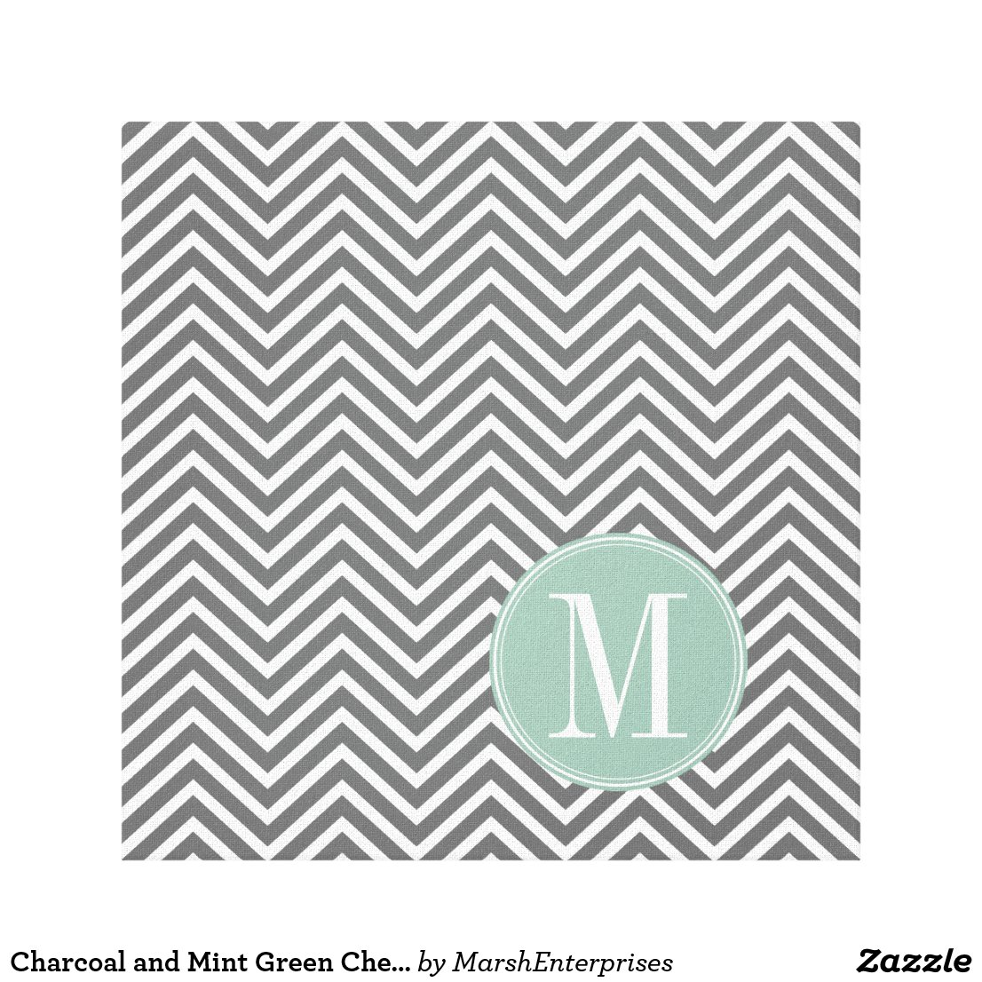 Monogram Canvas Print