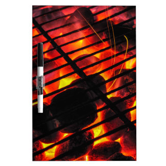 Charcoal Barbecue Dry-Erase Whiteboards