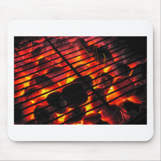 Charcoal Barbecue Mouse Pad