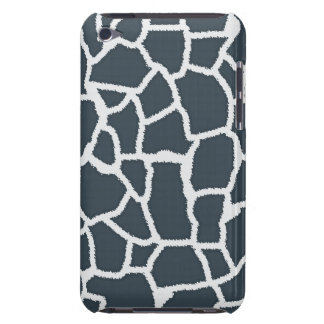 "Charcoal Color Giraffe ""animal print"" iPod Touch Case-Mate Case"