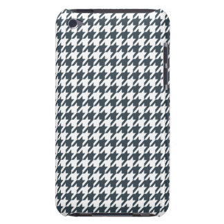 Charcoal Color Houndstooth Barely There iPod Covers