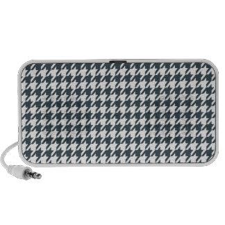 Charcoal Color Houndstooth Travelling Speaker