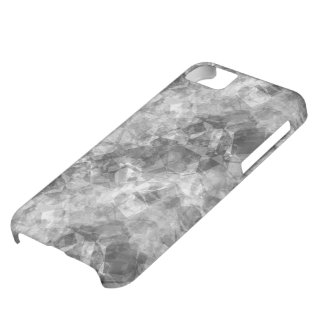 Charcoal Crumpled Texture iPhone 5C Case