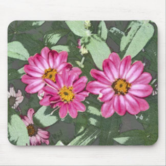 Charcoal Garden Mouse Pad