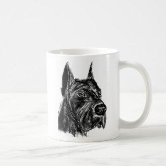 charcoal gd 001 classic white coffee mug