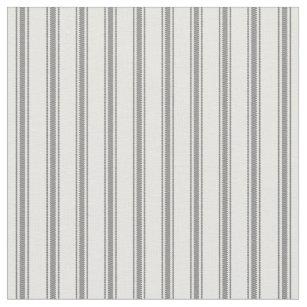 Gray And White Striped Fabric Zazzlecouk