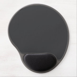 """""""Charcoal Gray"""" Gel Mouse Pad"""