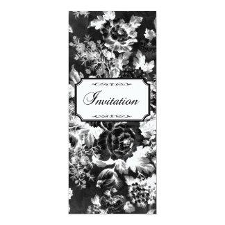 Charcoal Rose Wedding Suite-Invitation 10 Cm X 24 Cm Invitation Card