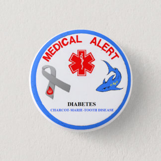Charcot Marie Tooth Disease Button
