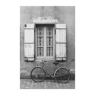 Charentes Bike Marans Canvas Print