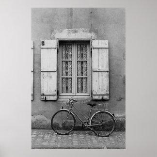 Charentes Bike Marans Poster