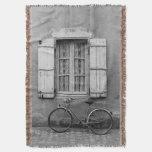 Charentes Bike Marans Throw Blanket