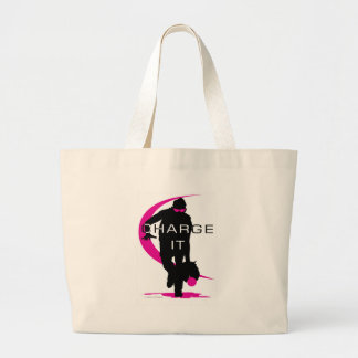 Charge it tote bags