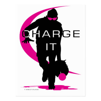 Charge it postcard