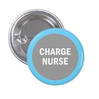 Charge Nurse hospital identification badge