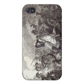 Charge of Lord Somerset's Heavy Brigade iPhone 4/4S Case