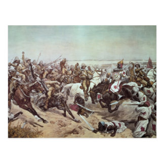 Charge of the 21st Lancers at Omdurman 2 Postcard