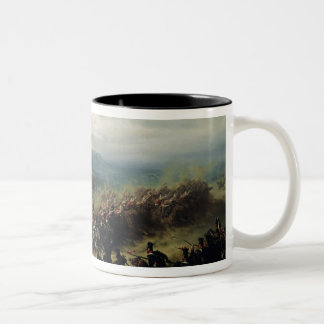 Charge of the Light Brigade, 25th October 1854 Two-Tone Coffee Mug