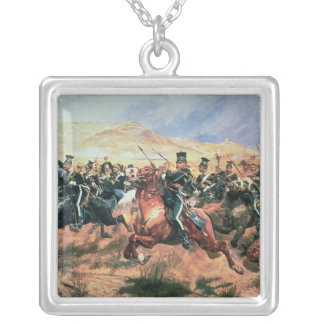Charge of the Light Brigade Silver Plated Necklace