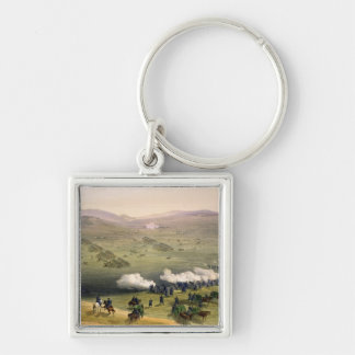 Charge of the Light Cavalry Brigade, October 25th Key Ring
