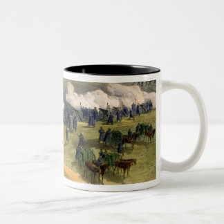 Charge of the Light Cavalry Brigade, October 25th Two-Tone Coffee Mug