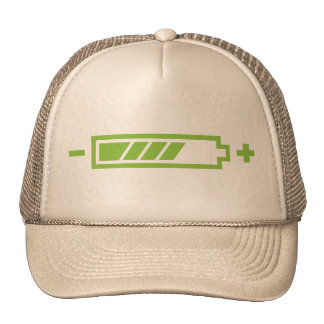 Charged - battery solar hybrid electric cap