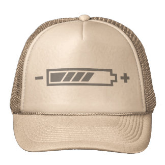 Charged - battery solar hybrid electric hat