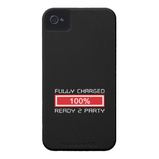 Charged Ready To Party iPhone 4/4S Case-Mate B.T. iPhone 4 Covers