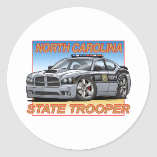 Charger_NC_TROOPER Classic Round Sticker