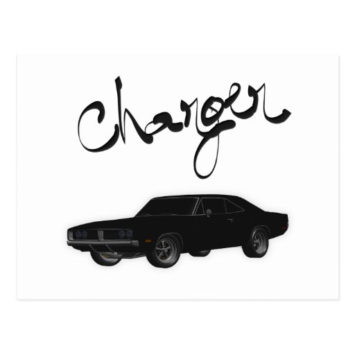Charger Post Cards