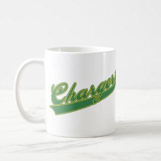 Chargers Script Basic White Mug
