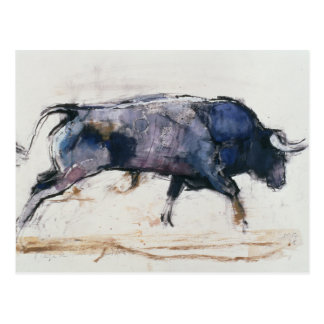 Charging Bull 1998 Postcard