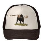 Charging Bull Moose Hat