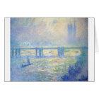 Charing Cross Bridge 03 by Claude Monet Card