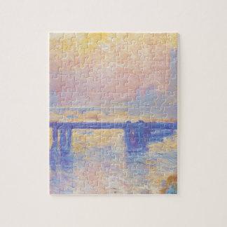 Charing Cross Bridge by Claude Monet Puzzle