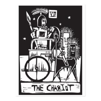 Chariot Tarot Card Postcard