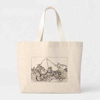 Chariots Jumbo Tote Bag