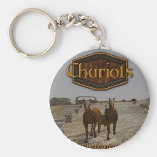 Chariots_square_300dpi Keychain