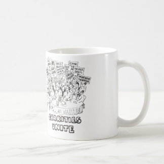 Charities unite coffee mug