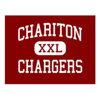 Chariton - Chargers - High School - Chariton Iowa Postcard