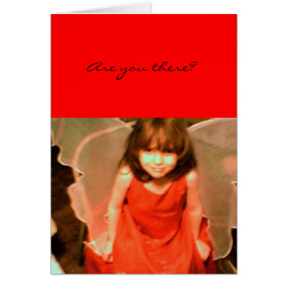 Charity Angel I Miss You Greeting Card