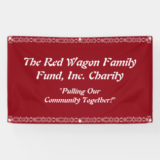 Charity Event Banner Personalize