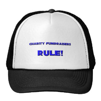 Charity Fundraisers Rule! Mesh Hat