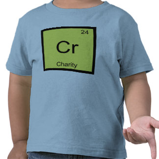 Charity Name Chemistry Element Periodic Table T Shirt