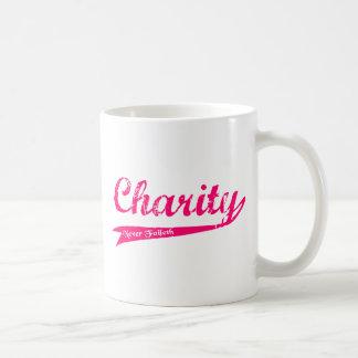 Charity Never Faileth LDS Relief Society Basic White Mug
